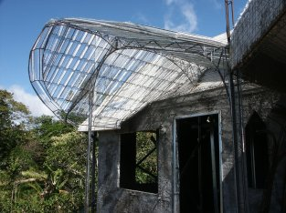 Ferrocement Patio roof