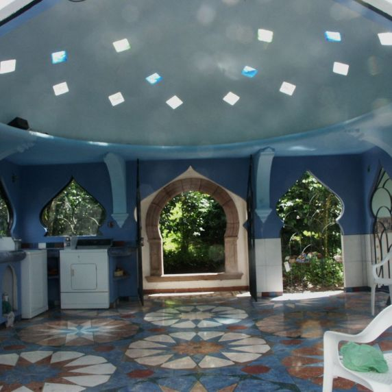 The Taj 20 ft ferrocement dome