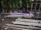 pre fabricated bamboo bambu posts