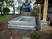 Prefabricated steel wall frames