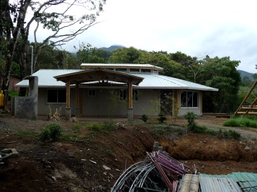 Bamboo bambu house