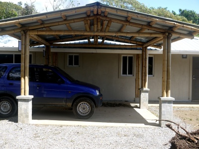 Bamboo Carport Patio Roof